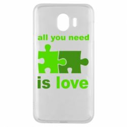 Чехол для Samsung J4 All you need is love - FatLine