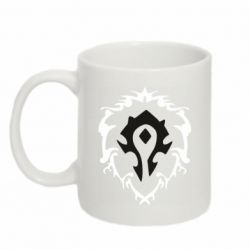 Кружка 320ml Alliance and horde two in one