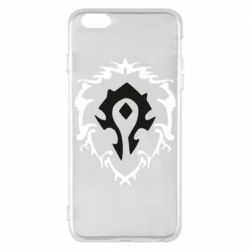 Чехол для iPhone 6 Plus/6S Plus Alliance and horde two in one