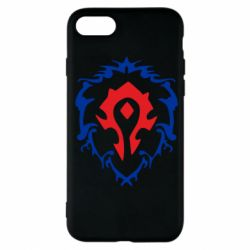 Чехол для iPhone 7 Alliance and horde two in one