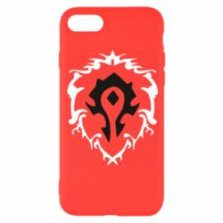 Чехол для iPhone 8 Alliance and horde two in one