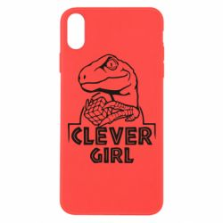 Чохол для iPhone Xs Max Allosaurus clever girl
