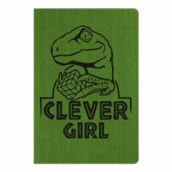 Блокнот А5 Allosaurus clever girl
