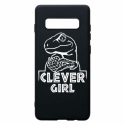 Чохол для Samsung S10+ Allosaurus clever girl