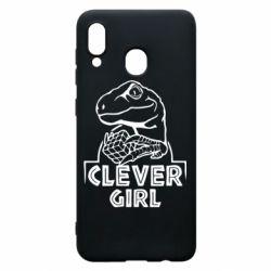 Чохол для Samsung A20 Allosaurus clever girl