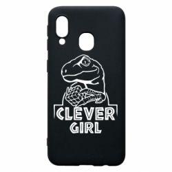 Чохол для Samsung A40 Allosaurus clever girl