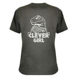 Камуфляжна футболка Allosaurus clever girl