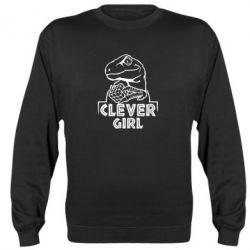 Реглан (світшот) Allosaurus clever girl
