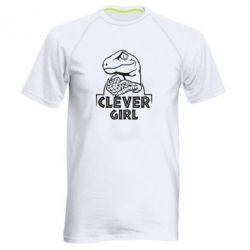 Чоловіча спортивна футболка Allosaurus clever girl