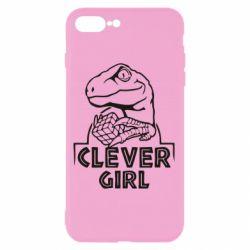 Чохол для iPhone 8 Plus Allosaurus clever girl