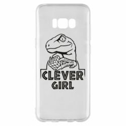 Чохол для Samsung S8+ Allosaurus clever girl