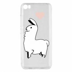 Чехол для Xiaomi Mi5/Mi5 Pro Alpaca with a heart