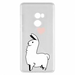 Чехол для Xiaomi Mi Mix 2 Alpaca with a heart