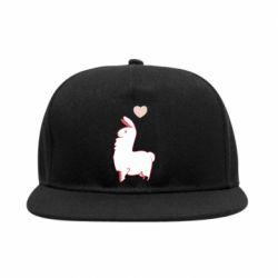 Снепбек Alpaca with a heart