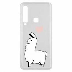 Чохол для Samsung A9 2018 Alpaca with a heart