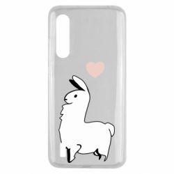 Чехол для Xiaomi Mi9 Lite Alpaca with a heart
