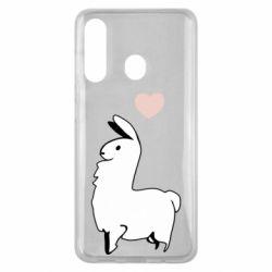 Чохол для Samsung M40 Alpaca with a heart