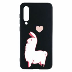 Чехол для Xiaomi Mi9 SE Alpaca with a heart