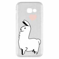 Чохол для Samsung A5 2017 Alpaca with a heart