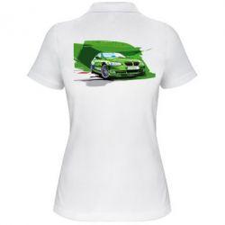 Женская футболка поло Alpina Art - FatLine