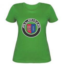 Женская футболка Alpina - FatLine
