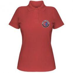 Женская футболка поло Alpina - FatLine