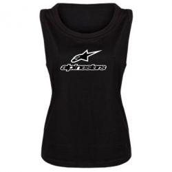 Женская майка Alpinestar Logo - FatLine