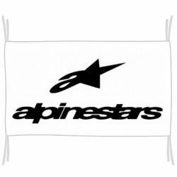 Прапор Alpinestar Logo
