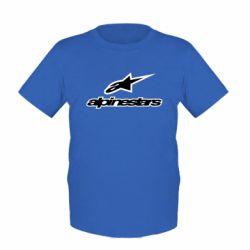 Детская футболка Alpinestar Logo - FatLine