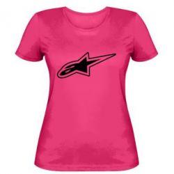 Женская футболка Alpinestars - FatLine