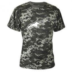 Камуфляжная футболка Alpinestars - FatLine