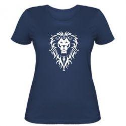 Женская футболка Альянс