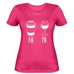 Женская футболка Am Pm