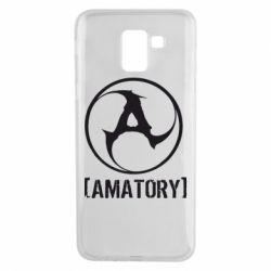 Чехол для Samsung J6 Amatory - FatLine
