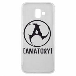 Чехол для Samsung J6 Plus 2018 Amatory - FatLine