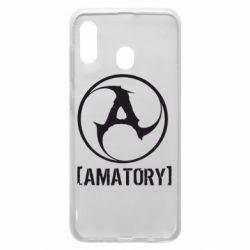 Чохол для Samsung A20 Amatory
