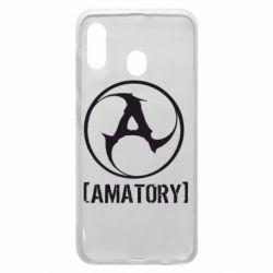 Чохол для Samsung A30 Amatory