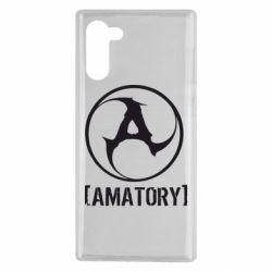 Чохол для Samsung Note 10 Amatory