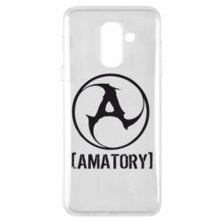 Чехол для Samsung A6+ 2018 Amatory - FatLine