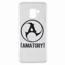 Чехол для Samsung A8+ 2018 Amatory - FatLine