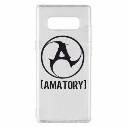 Чехол для Samsung Note 8 Amatory - FatLine