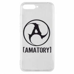 Чехол для Huawei Y6 2018 Amatory - FatLine