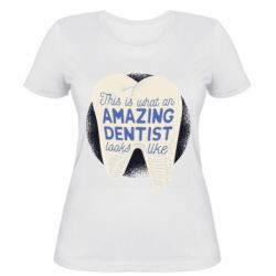 Жіноча футболка Amazing Dentist