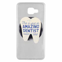 Чохол для Samsung A7 2016 Amazing Dentist