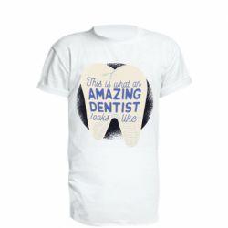 Подовжена футболка Amazing Dentist
