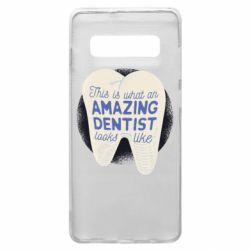 Чохол для Samsung S10+ Amazing Dentist