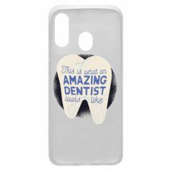 Чохол для Samsung A40 Amazing Dentist