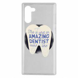 Чохол для Samsung Note 10 Amazing Dentist