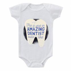 Дитячий бодік Amazing Dentist