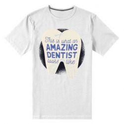 Чоловіча стрейчева футболка Amazing Dentist